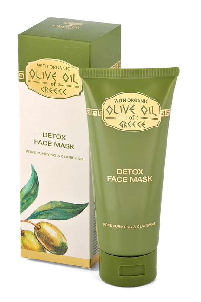 Olivová detoxikační a čistící pleťová maska s kaolinem 100 ml - Minimální trvanlivost 3-2020 (Aktivuje obnovu poškozené pleti a udržuje její přirozenou hydrataci. Posiluje přirozenou obranyschopnost pleti, zabraňuje jejímu předčasnému stárnutí, ztrátě pru
