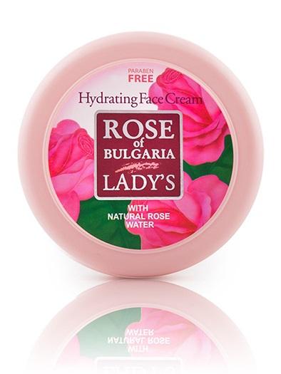 BioFresh růžový hydratační krém na obličej 100 ml (Krém s obsahem růžové vody, D-panthenolu, vitaminu E a jojobového oleje )