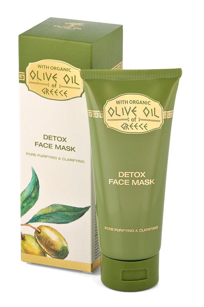 Olivová detoxikační a čistící pleťová maska s kaolinem 100 ml (Aktivuje obnovu poškozené pleti a udržuje její přirozenou hydrataci. Posiluje přirozenou obranyschopnost pleti, zabraňuje jejímu předčasnému stárnutí, ztrátě pružnosti a vzniku vrásek.)
