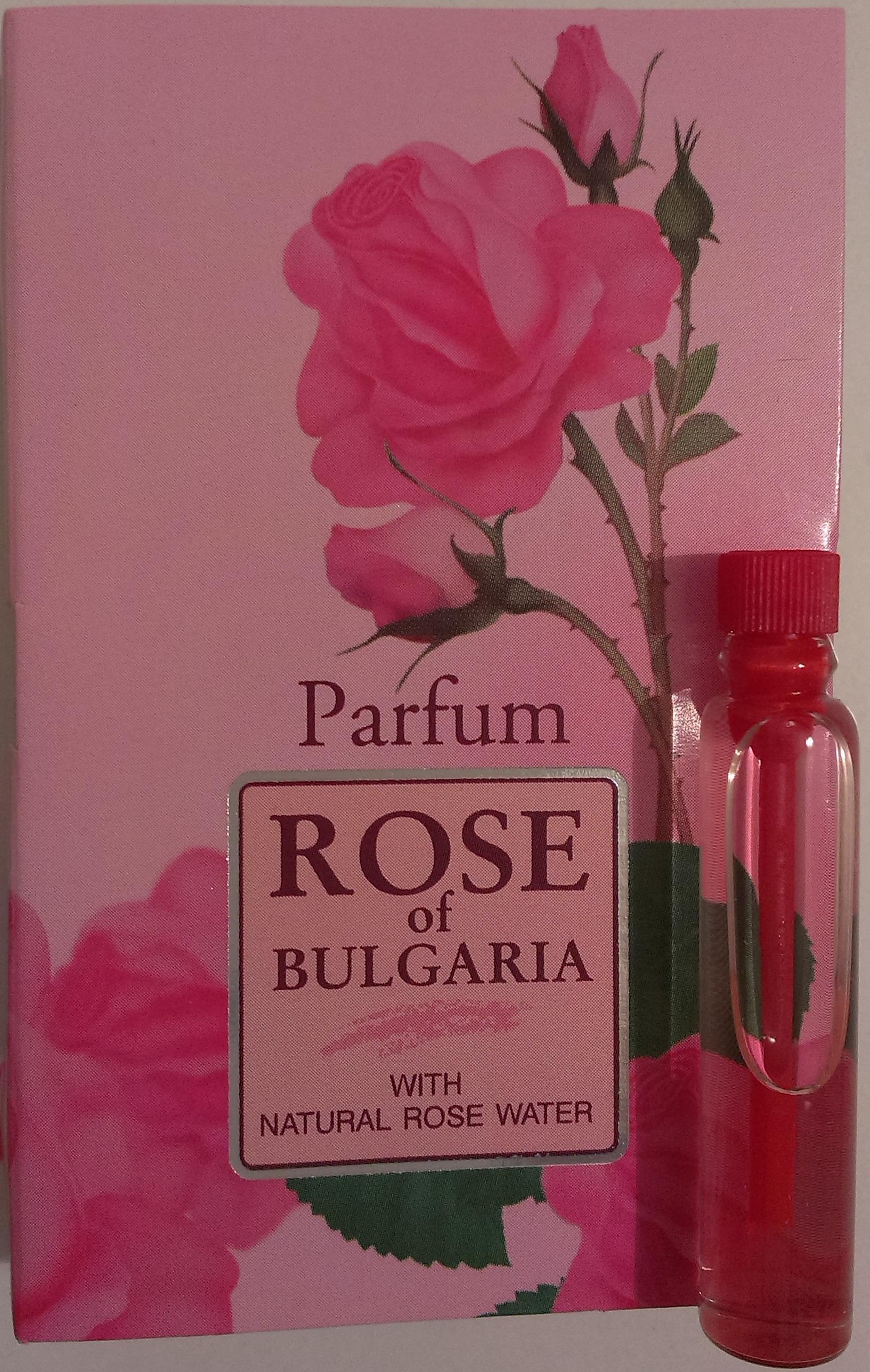 BioFresh dámský parfém s růžovým olejem 2,1 ml (Podmanivá vůně růže)