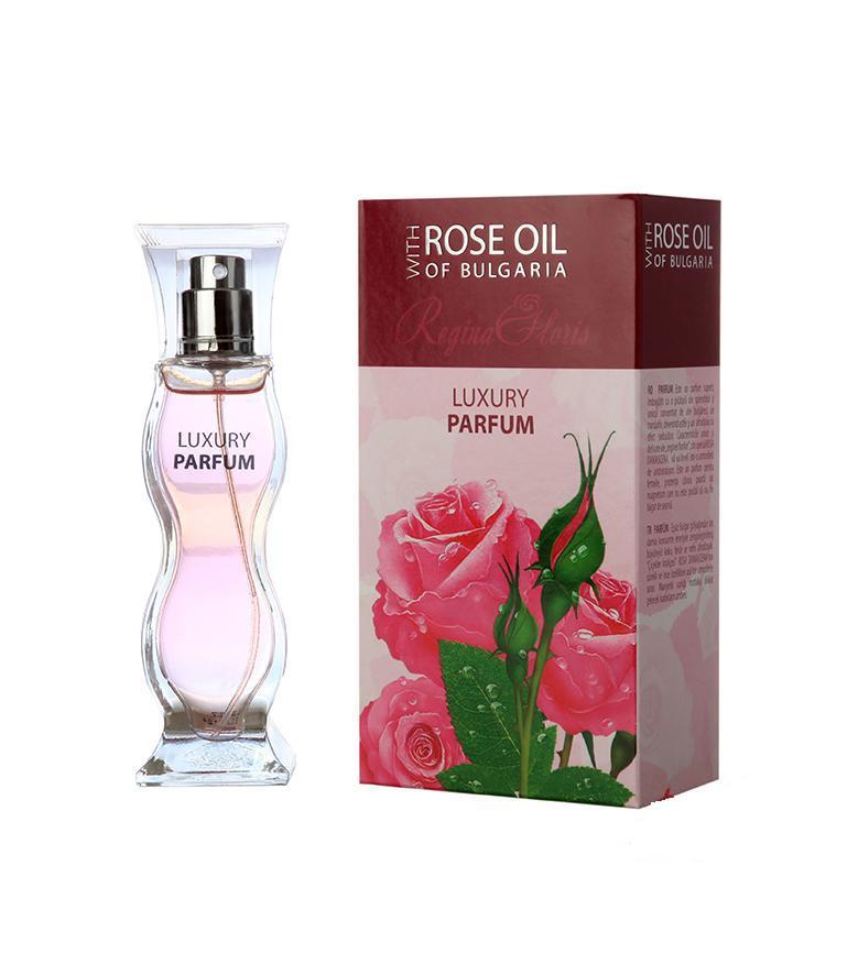 BioFresh luxusní parfém Regina Floris s podmanivou vůní růže 50 ml (Luxusní parfém s obsahem růžového oleje. Podmanivá vůně a vytříbená elegance.)