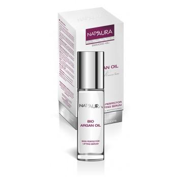 NAT'AURA intenzivní SKIN PERFECTOR sérum s růžovým a arganovým olejem 30ml (Sérum proti stárnutí pleti snižuje hloubku vrásek a vyhlazuje pleť!)
