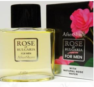 Rose of Bulgaria for Men voda po holení s růžovou vodou 100 ml (Voda po holení, která odráží temperament a vášeň současných mužů)